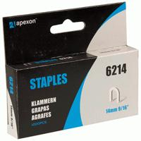 Apexon Cable Staples - 14mm - 1000 Pack