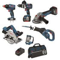 Bosch Cordless Kit + Free Battery - 18V DB 6-XGS EC 5.0