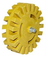 Almax Eraser Wheel - Notched