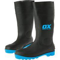 OX Steel Toe Safety Gumboots