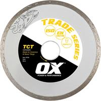 OX Trade TCT Continuous Rim Diamond Blade