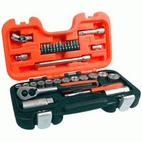 Bahco Socket Set - 1/4