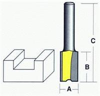 Econocut Router Bit - Straight Cut