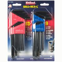 Eklind Hex Ball Key Set - Long - Combo