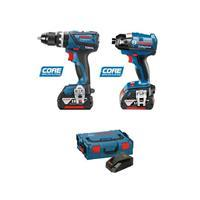 Bosch Cordless Kit + Free Battery - 18V DBX 2-P EC 6.0