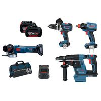 Bosch Cordless Kit + Free Battery - 18V DB 4-XGH EC 5.0